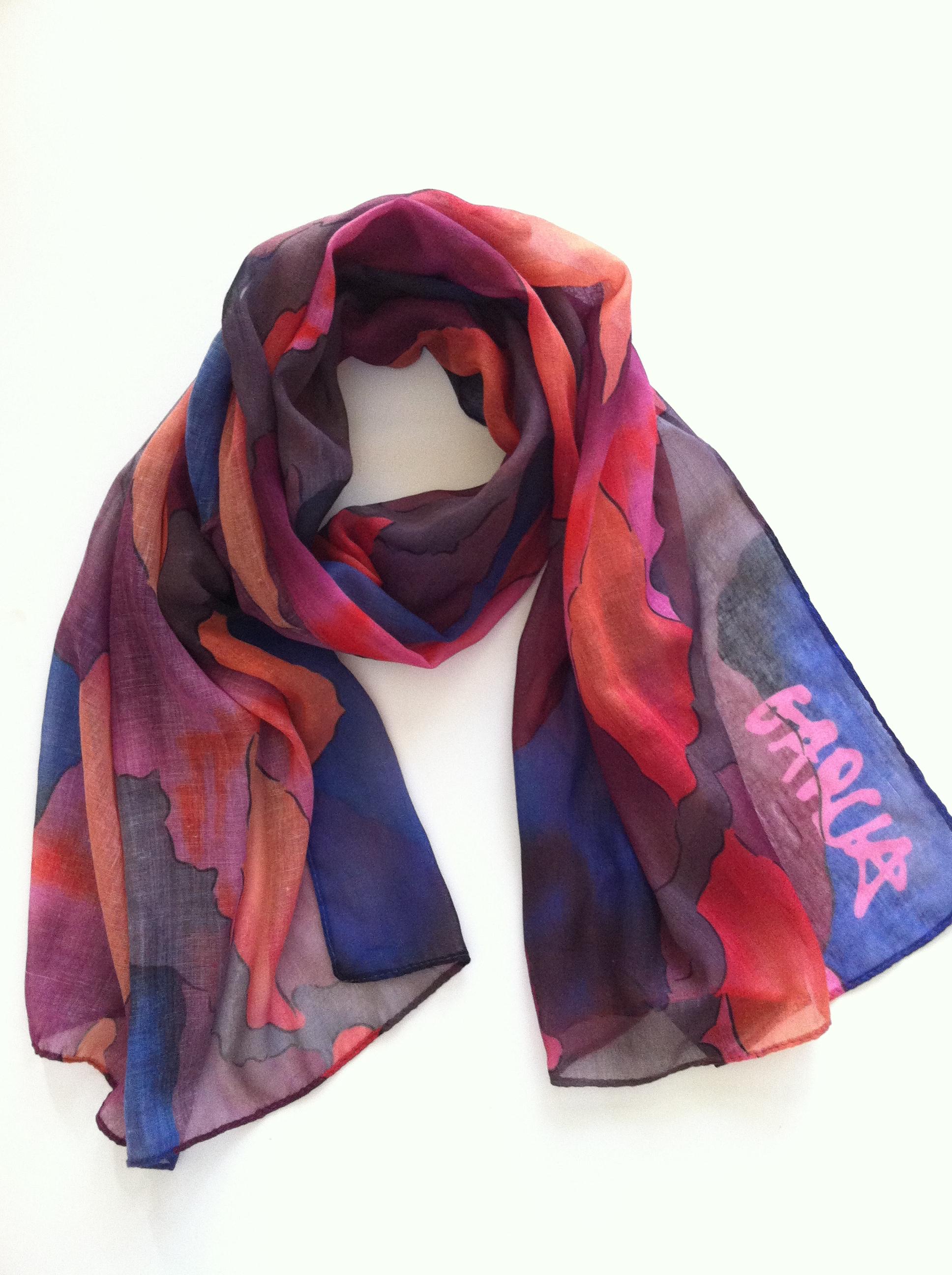 jerry garcia scarf
