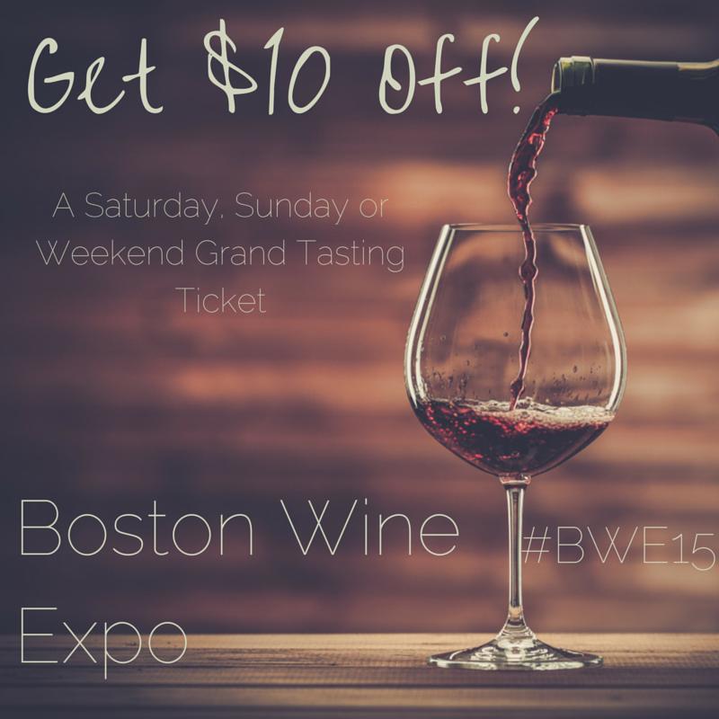 Boston Wine Expo Discount