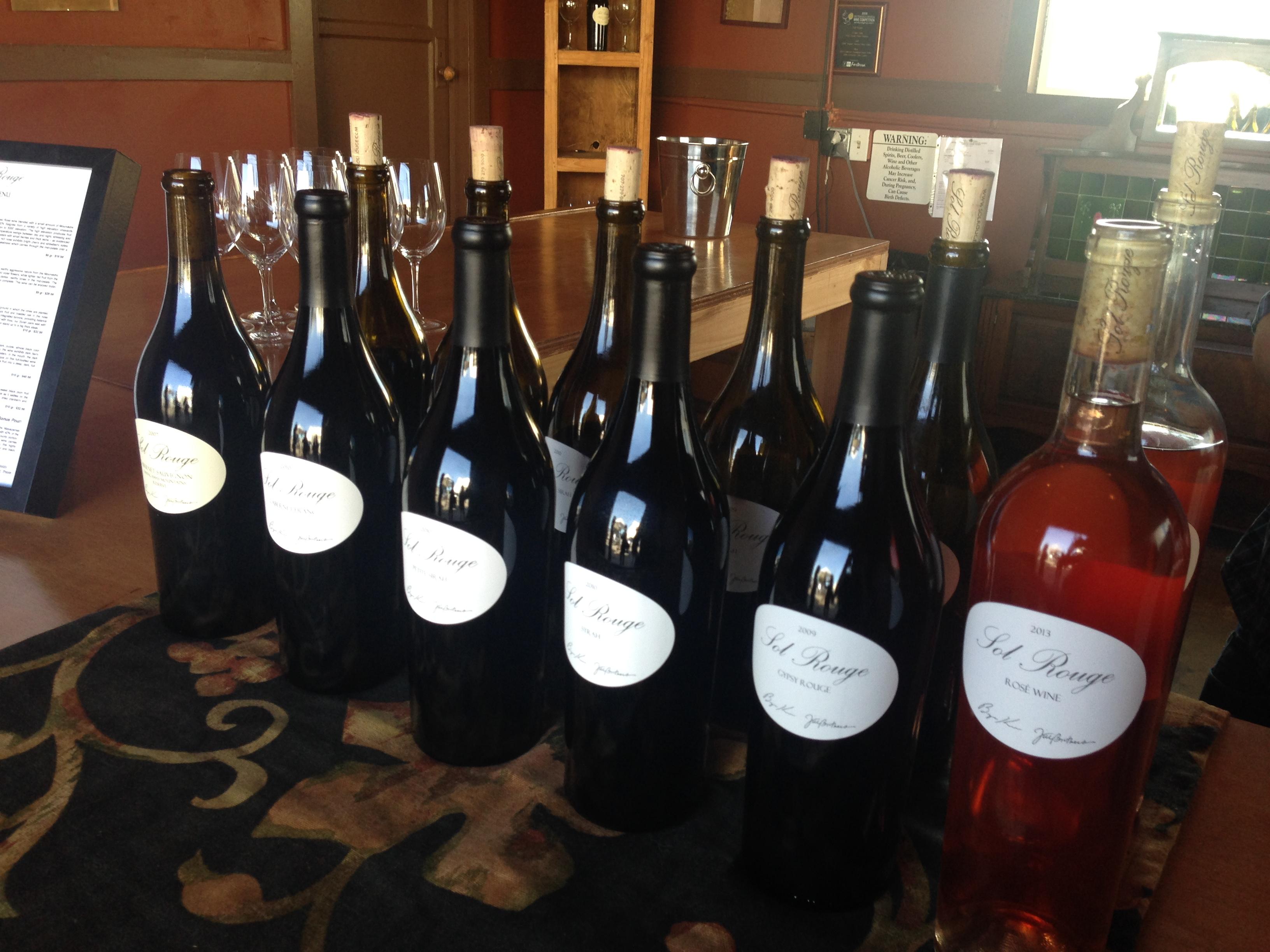 Treasure Island Sol Rouge Bottles