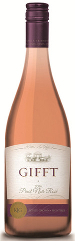 gifft rose thanksgiving wines