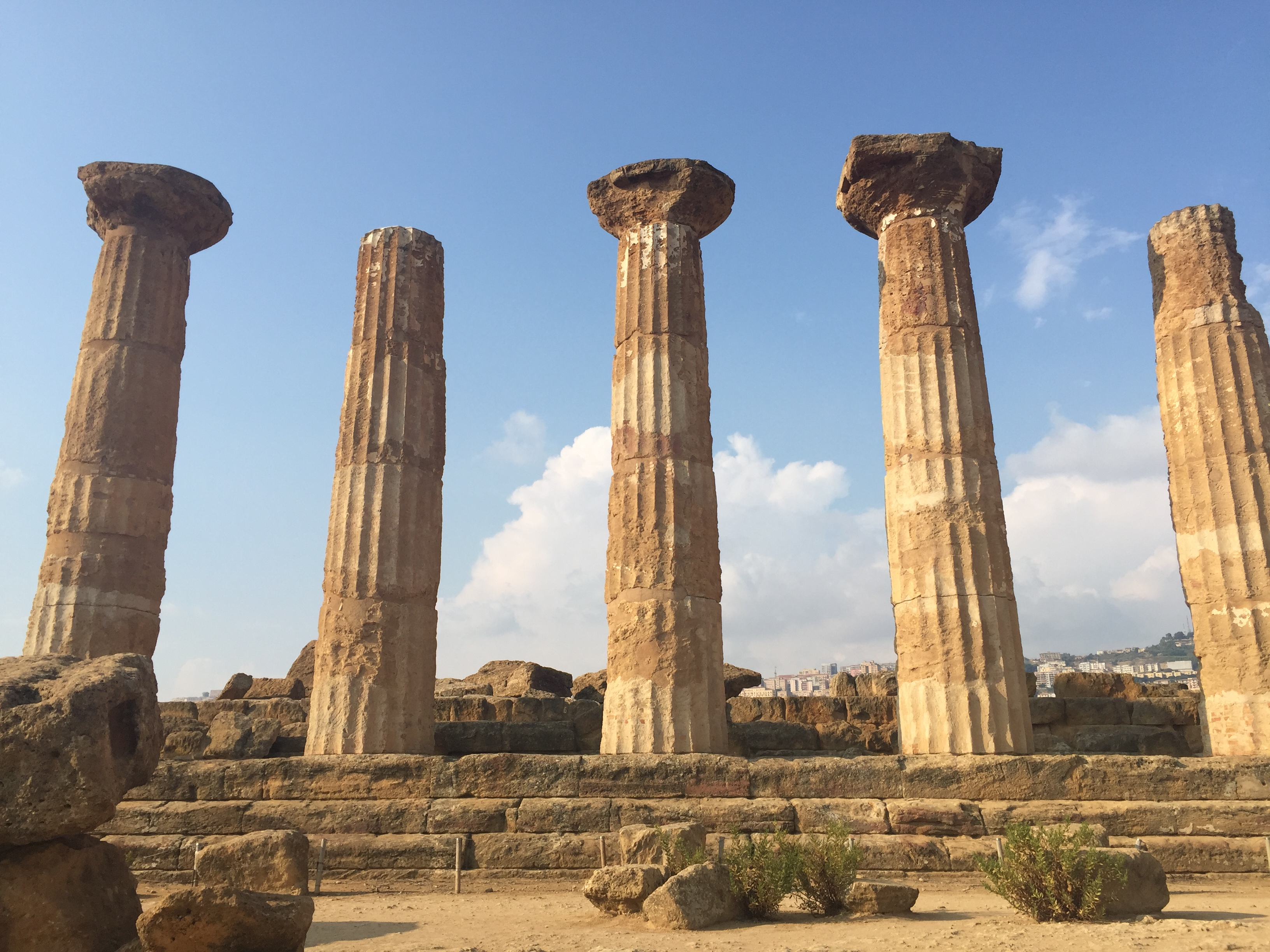 Wines of Sicily Ancient Ruins