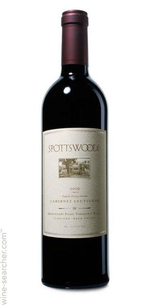 spottswoode family estate holiday wine