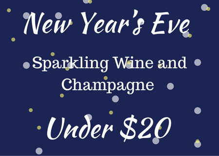 New Year's Even Sparkling Wine